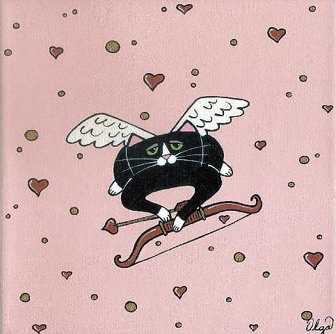 Art: ~cupid~ by Artist S. Olga Linville