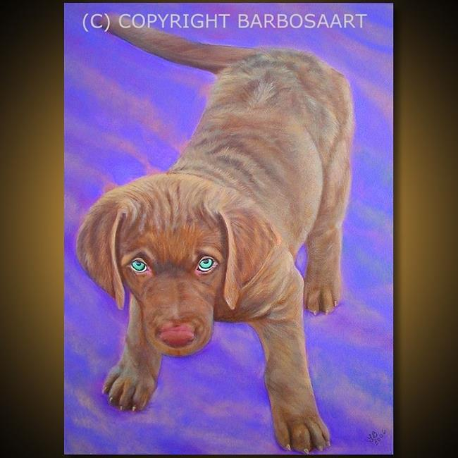 Art: Chesapeake By The Bay by Artist Laura Barbosa
