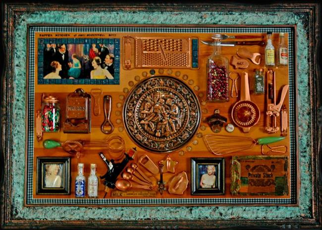 Art: Kopper Kitchen by Artist Andrew Myles McDonnell (Andy Myles)