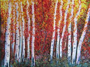 Detail Image for art Hart Prairie Aspens