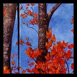 Art: Autumn Maples ~ SOLD by Artist Dana Marie