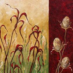 Art: Botanical Three ~ SOLD by Artist Dana Marie