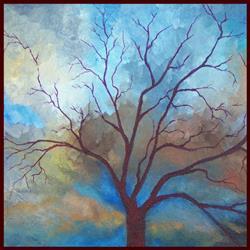 Art: Tempestuous Skies ~ Sold by Artist Dana Marie