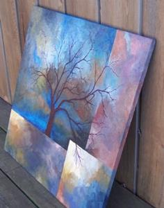Detail Image for art Tempestuous Skies ~ Sold