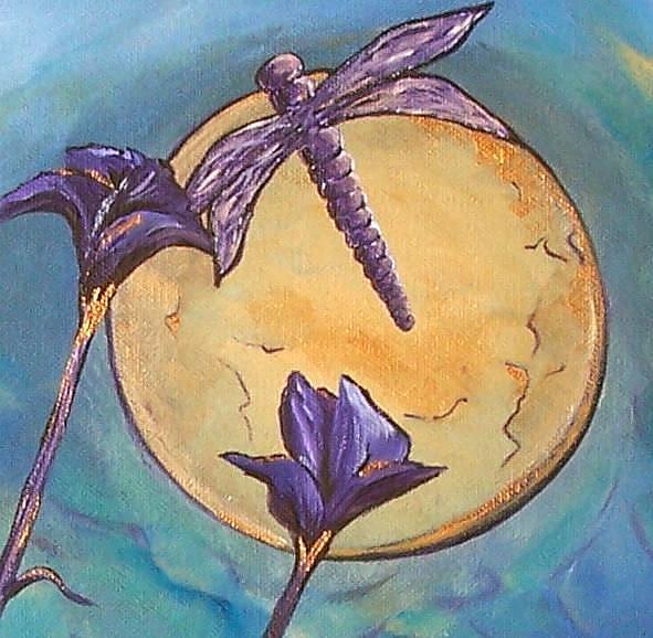 Art: Lunar Ballet ~ Sold by Artist Dana Marie
