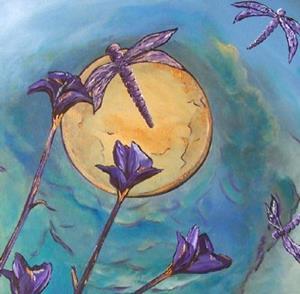 Detail Image for art Lunar Ballet ~ Sold