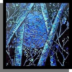 Art: Once Upon a Blue Moon by Artist Dana Marie