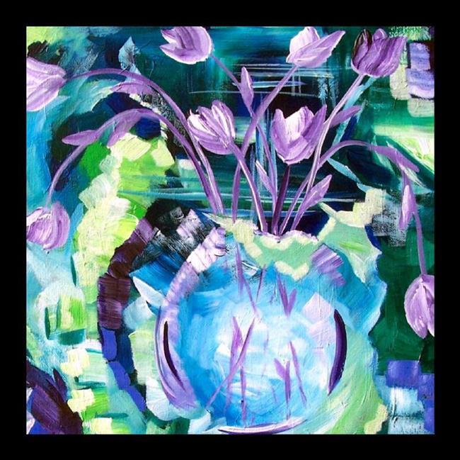 Art: Serendipity ~ SOLD by Artist Dana Marie
