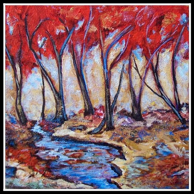 Art: Autumn Grove ~ SOLD by Artist Dana Marie