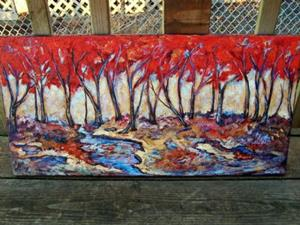 Detail Image for art <b>Autumn Grove ~ SOLD