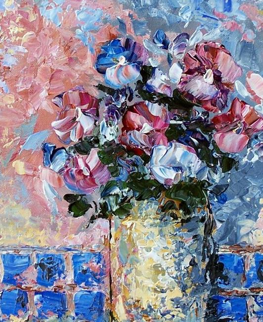 Art: Flowers of Modesty by Artist Dana Marie