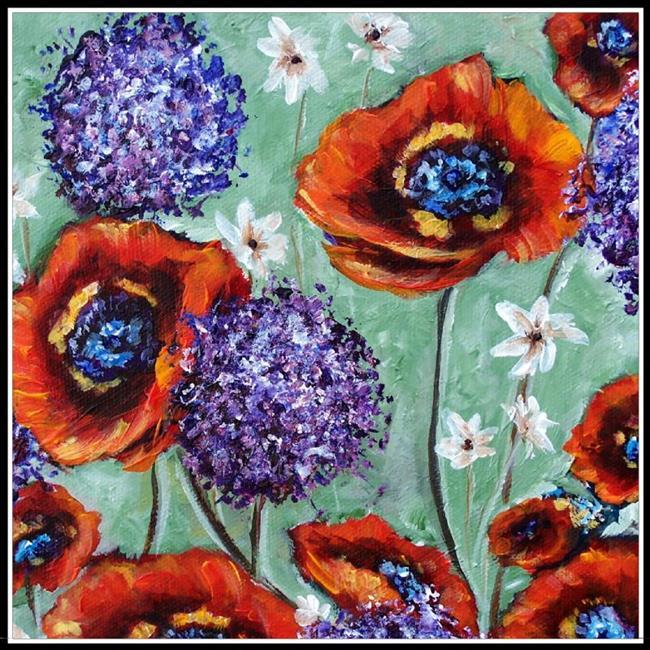 Art: Garden Scents ~ SOLD by Artist Dana Marie