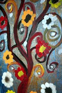Detail Image for art FLOWERS TREES-SOLD