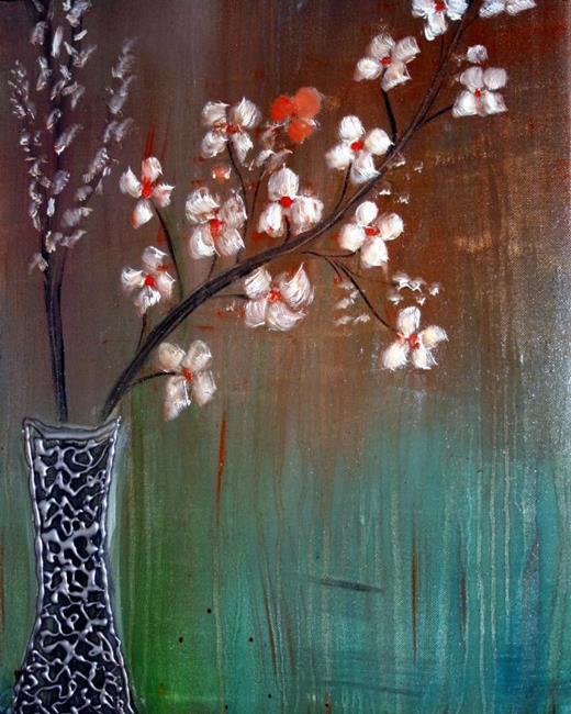 Art: BEAUTIFUL FLOWERS-sold by Artist LUIZA VIZOLI