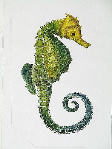 Art: Seahorse by Artist Paul Helm