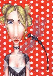 Art: ALBINKA by Artist Jen Thoman Thurston