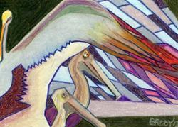 Art: Flight by Artist Judith A Brody