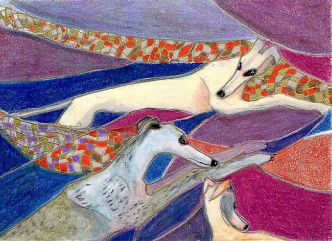 Art: Speed by Artist Judith A Brody