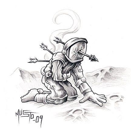 Pencil Drawings Of Astronauts - Pics About Space