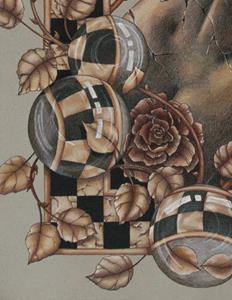 Detail Image for art Tracks of Impermanence