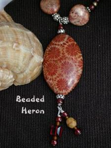 Detail Image for art Fossil Coral Necklace