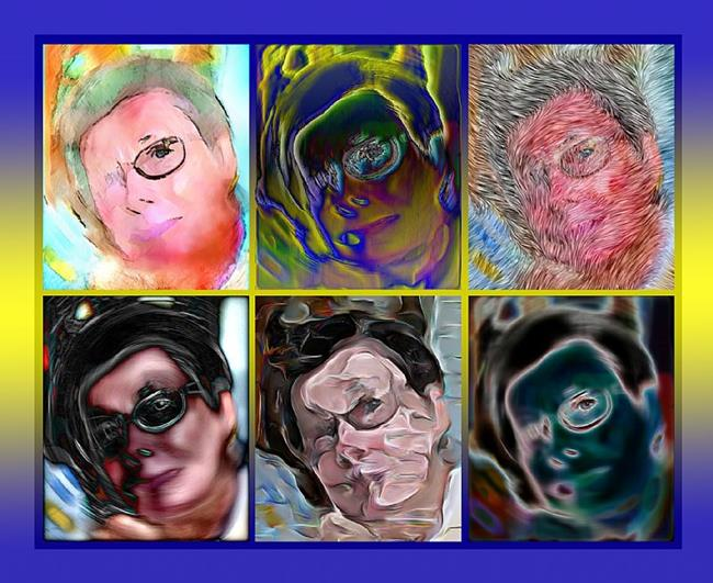 Art: The Eyes Have It by Artist Deanne Flouton