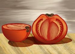 Art: Tomato by Artist Tori Siegel