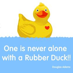 Art: rubber-duck800.jpg by Artist Paul Helm