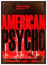 Art: American Psycho Fine Art Poster by Artist Milena Gawlik