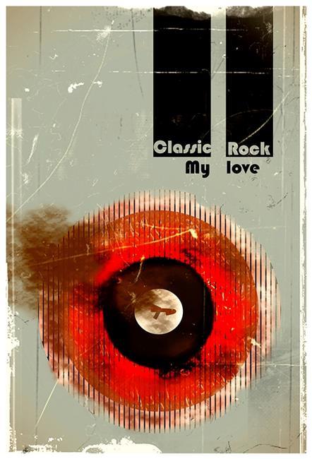 Art: Classic Rock My Love by Artist Milena Gawlik