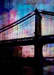 Art: Brooklyn Bridge SD by Artist Staci Dawn