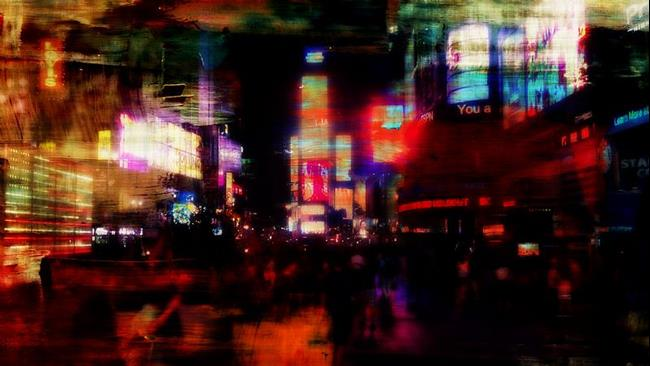 Art: New York Time Square by Artist Staci Dawn