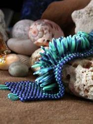Art: Turquoise Dagger Bracelet by Artist Stephanie M. Daigle