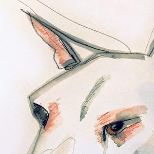 Detail Image for art Essential line bull terrier