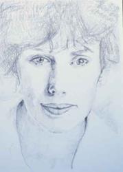 Art: Self-Portrait by Artist Susan Frank