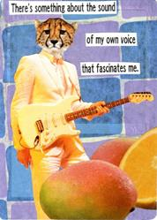 Art: sound of my own voice by Artist Took Gallagher