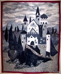 Art: Castel by Artist Karin Elizabeth Weiss