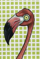 Art: Flamingo Portrait by Artist Cary Dunlap Daly