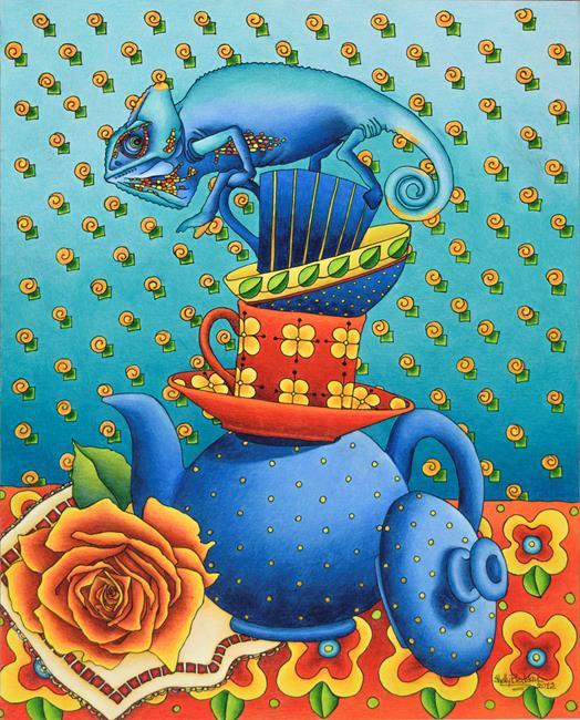 Art: Balancing Act by Artist Shelly Bedsaul
