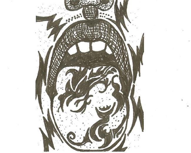 Art: Dragon Tongue by Artist Nata ArtistaDonna