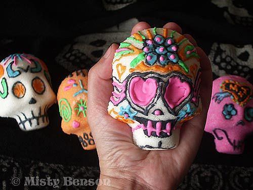 Art: Sugar Skull - Image 4 by Artist Misty Monster (Benson)