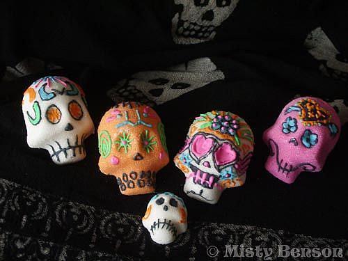 Art: Sugar Skull - Image 2 by Artist Misty Monster (Benson)