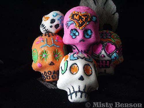 Art: Sugar Skull - Image 1 by Artist Misty Monster (Benson)