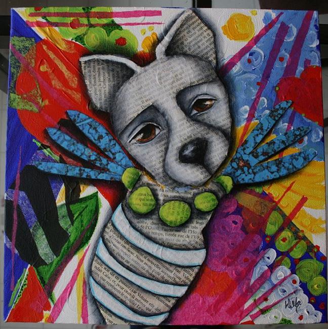 Art: Bug by Artist Deb Harvey