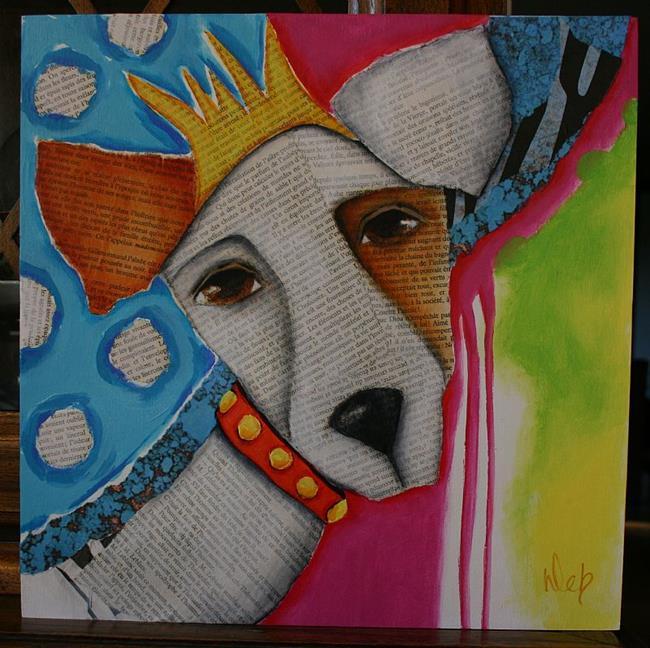 Art: The Queen by Artist Deb Harvey