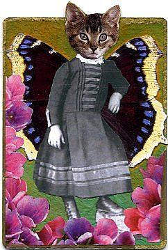 Art: Victorian Kitty (SOLD) by Artist Took Gallagher