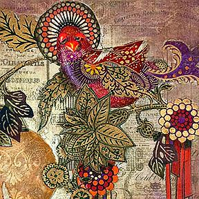 Detail Image for art Two Birds in Paradise