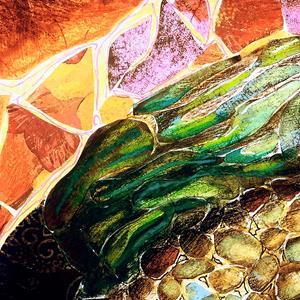 Detail Image for art turtle mosaic