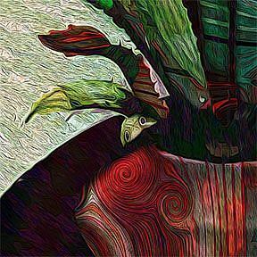 Detail Image for art Fractal Botanical