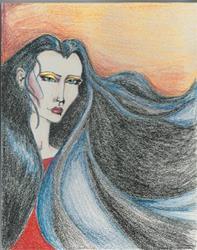 Art: vampiress3 by Artist Noelle Hunt